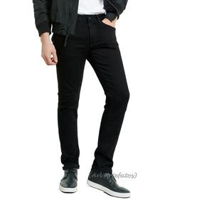 Calça Jeans Masculina Skinny Com Lycra Do Tamanho 36 Ao 48