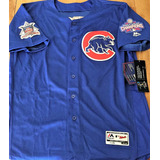 Camisa Chicago Cubs World Series 2016 Wilson Contreras db5c629292d