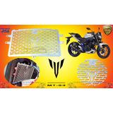 Protector Radiador Yamaha Mt03 Yamaha Mt-03 Leos Parts @tv