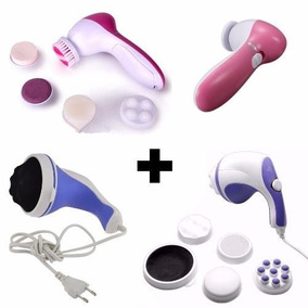 Massageador Derma Spa 5 Em 1 + Spin Tone Relax = 2 Aparelhos