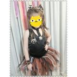 Tutú Disfraz Inspiración Gato -completo- Hermoso