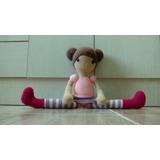 Muñeca Patas Largas Amigurumi Crochet