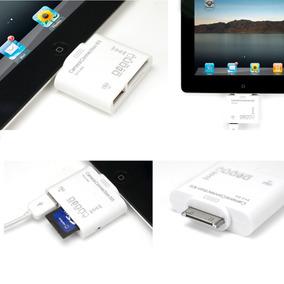 Adaptador Conector 5en1 Ipad Audio/vídeo, Sd, Micro Sd ,usb