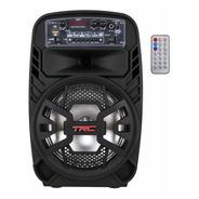 Caixa De Som Amplificada Bluetooth 100w Rms Trc510 Bateria
