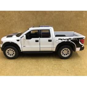 Miniatura Ford -f150 Raptor 2015 Branca