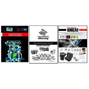 Pacote Com 3 Livros - Injeção + Ignição + Vw Ap Racing