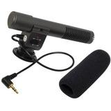 Fr Grátis Microfone Pro P/ Canon 77d T7i 5d Mark I Ii Iii Iv