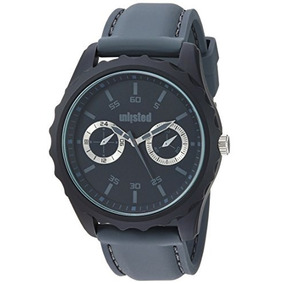 Unlisted Watches Mens Sport Quartz Metal And Silicone Dress