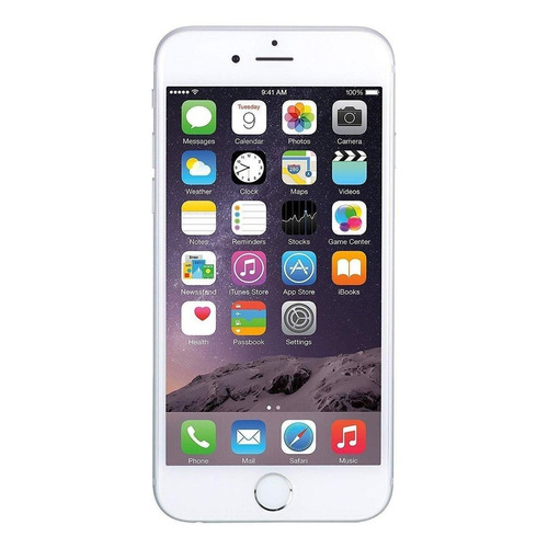 iPhone 6 16 GB Prata 1 GB RAM