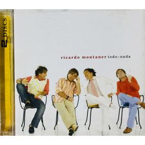 Ricardo Montaner, Todo Y Nada Cd + Dvd Importado, 2005