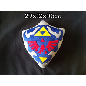 Peluche Cojin Hylian Shield Escudo Link The Legend Of Zelda