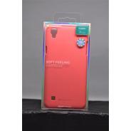 Funda LG Xstyle Mercury Goospery Soft Feeling Rosa