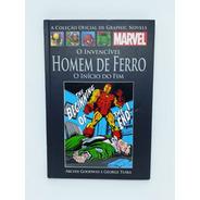 Coleção Graphic Novels - Homem De Ferro - O Início Do Fim