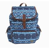 Mochila Capricho Etnic Blue 10992 Escolar Original