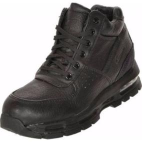 ... ni�o botas nike air max goadome acg piel suave negro total