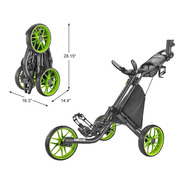Kaddygolf Carro Manual Golf Caddytek Ez - 3 Ruedas