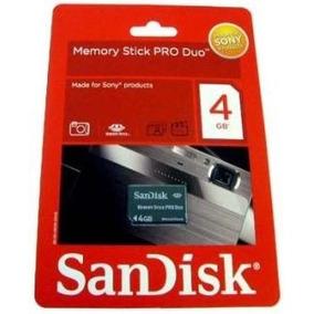 Memoria Memory Stick Pro Duo 4gb Tienda Física