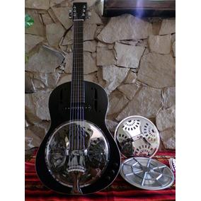 Guitarra Con Resonador Dobro Resoelectric -el Mejor Sonido-