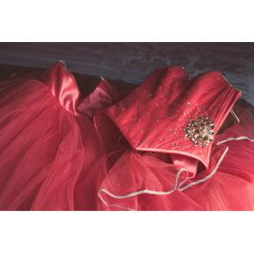 Vestido De Xv Rosa Coral