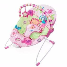 Mecedora Con Vibración Nena Rosa - Giro Didáctico