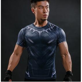 Playera Sport Black Panter Gym Running Crossfit