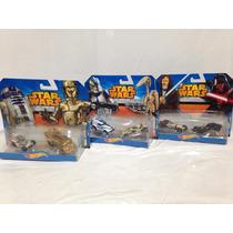 Hotwheels Star Wars Pack De 6 Año 2014 Nuevos Cgx02