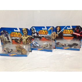 Hotwheels Star Wars Pack De 6 Año 2014 Nuevos Cgx02 58gt