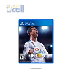 Juego Fisico Fifa 2018 Play Station 4 Nuevos