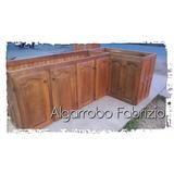 Mueble De Cocina Alacena Bajo Mesada Algarrobo