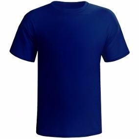 Camiseta Básica Lisa Malha 100% Algodão 30.1 Cores Variadas