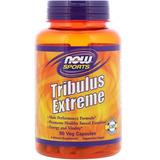 Tribulus Extreme Now Sports Com Maca Chá Verde Damiana 90cap