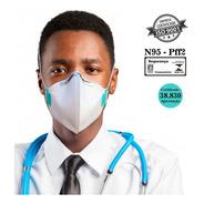 5 Máscaras N95 Hospitalar 4 Camadas Reutilizável E Regulável