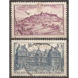 Francia Año 1946 Serie De 2v. Yvert 759/0