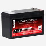 Bateria Selada 12v 7ah F187 Up1270 Segurança Unipower