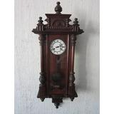 Relógio Antigo Parede Junghans Alemão Original Revisado
