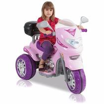 Moto Bateria Nena Sprint Custon 6v Sonido Luz Baby Shopping