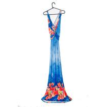 Vestido Feminino Longo - Primavera Verão - Liquidação