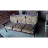 Muebles Coloniales Usados 1 Sofa Grande 2pequeños Y Una Mesa