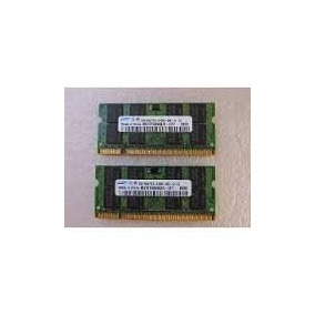Memoria Garantia Samsung 4gb Ddr2 Pc-6400 Notebook 2x 2gb
