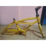 Cuadro Bicicleta Rodado 14 Con Horquilla Y Cubre Cadena