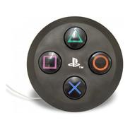 Luminária Abajur Botão Playstation Preto
