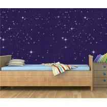 Papel De Parede Adesivo Teto Céu Estrela Quarto Infantil M56