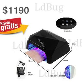 Lampara Led Y Uv Seca Gel Acrilico Con Sensor