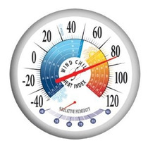 Springfield Aire Libre Termómetro Con Wind Chill-índice De C