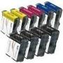 Compatible Granel Lc51 Conjunto De Cartuchos De Tinta 10 4