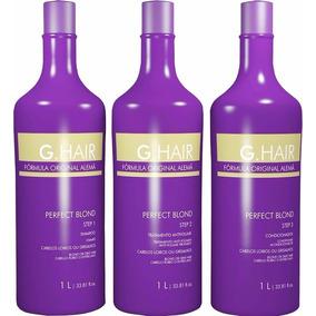 Inoar Ghair Alemã Perfect Blond ( 1 Kit 3 X 1000ml ) G Hair