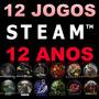 12 Jogos Originais Incluindo Cs 1.6 & Source + Steam 12 Anos