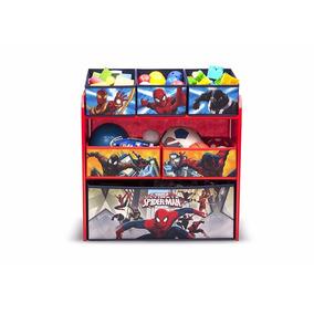 Juguetero Organizador Spiderman Marvel
