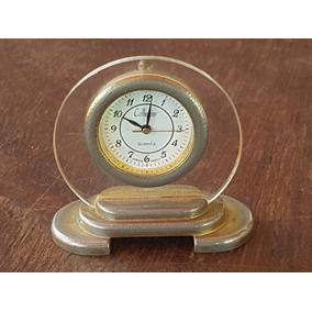 Relógio Pequeno Japonês Para Mesa Collezio