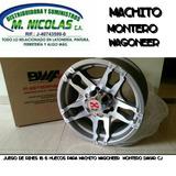 Rines 16 6 Huecos Para Machito Montero Dakar Wagoneer